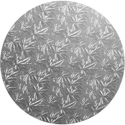 4 Inch Round Silver 12mm