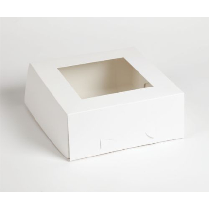 Cake Box Window 10x10x4 -