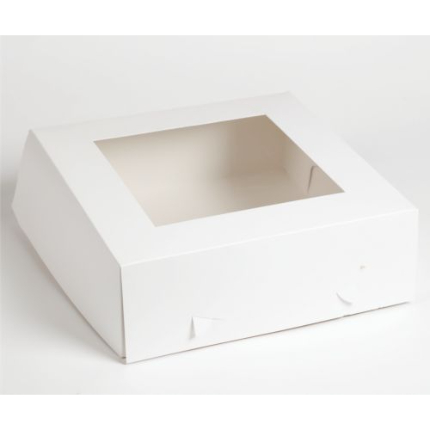 Cake Box Window 12x12x4 -