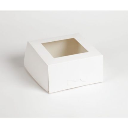 Cake Box Window 8x8x4 - 1