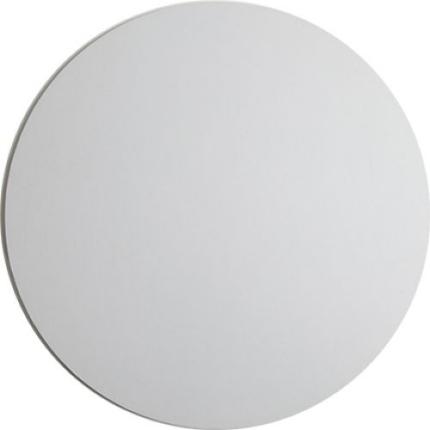 6 Inch Round White 250GSM
