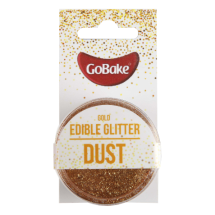 Edible Glitter Dust Gold