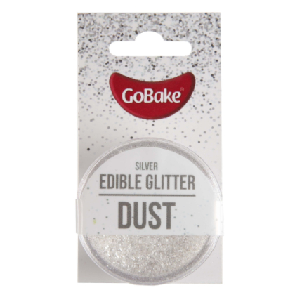 Edible Glitter Dust Silve