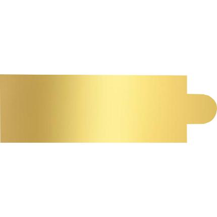 125x45cm Rect Gold 1mm 10