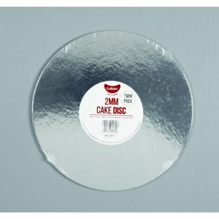 2mm Disc Silver Round 25c