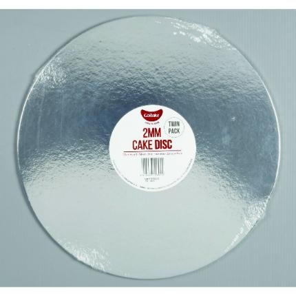 2mm Disc Silver Round 30c