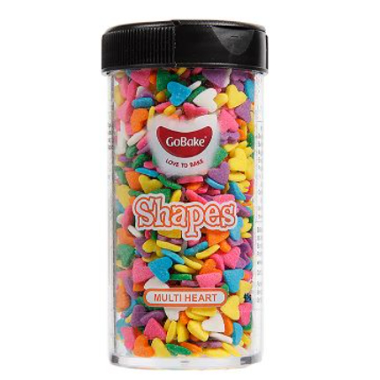 GoBake Multi Heart Sprinkle Shapes