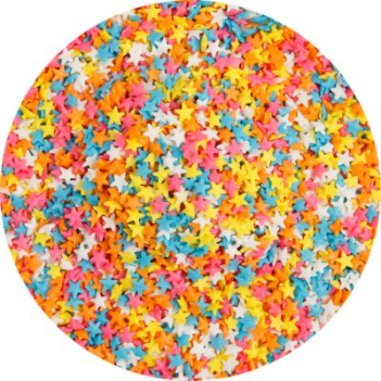 Pastel Star Sprinkle Shapes