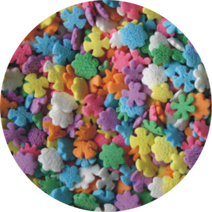 Wildflower Sprinkle Shapes