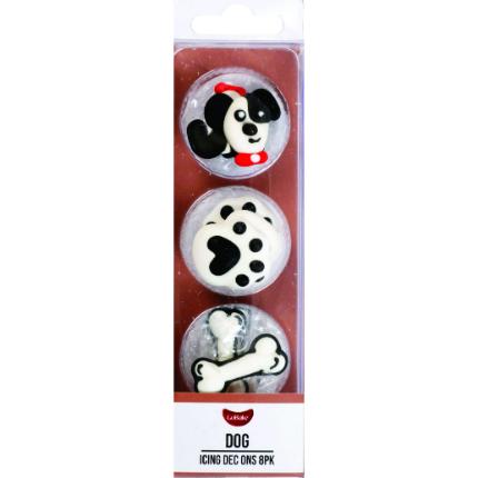 Dec On Novelty Dogs - 8pk
