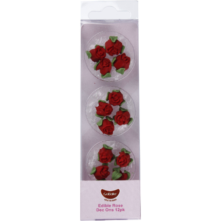 Dec On Roses Red - 12pk
