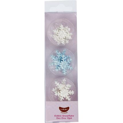 GoBake Assorted Pearl Snowflake Icing Dec Ons