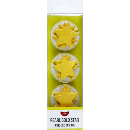 Gold Pearl Star