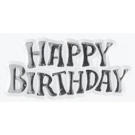 Silver Birthday 24pk