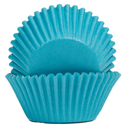 Baking Cups 50x35mm Blue