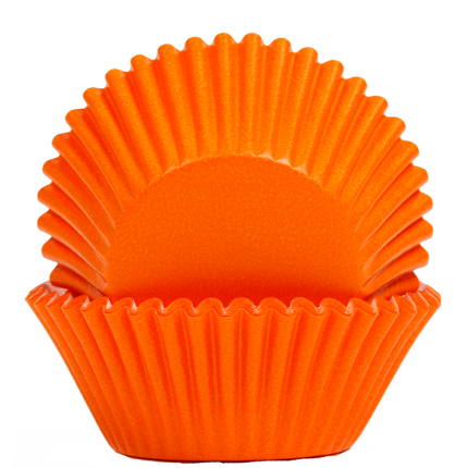 Baking Cups 50x35mm Orang