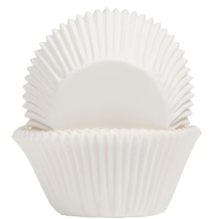 Baking Cups 56x45mm White