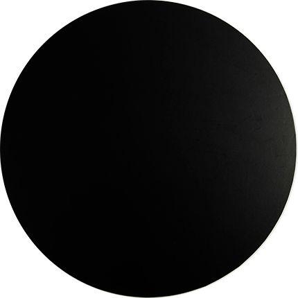 16 Inch Round Black 9mm Masonite