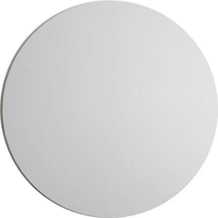 4 Inch Round White 4mm