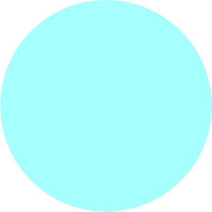4mm Masonite Blue Round 3