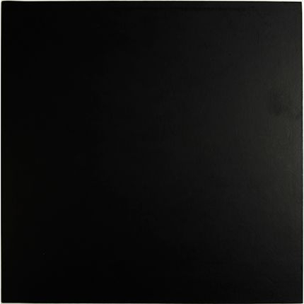7 Inch Square Black 4mm Masonite