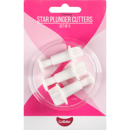 Star Plungers 3pk
