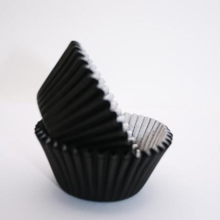 Baking Cups 50x35mm Black
