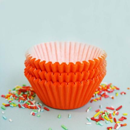 Baking Cups 50x35mm Orang