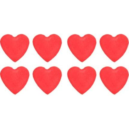 Gumpaste 1cm Heart - Red