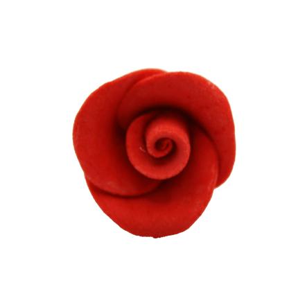 25mm Red Gumpaste Roses